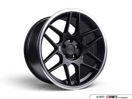 "ES#3437329 - 5060530680412sKT - 18"" 0.09 - Set Of Four - 18x8.5 ET42 / 18x9.5 ET40 5x112 - Satin Black / Polished Lip - 3SDM - Audi Volkswagen"