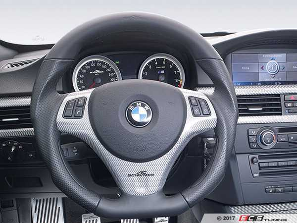 ES#3430896 - 323492530 - sports steering wheel EVO - A 3 spoke wheel designed to be used with shift paddles - AC Schnitzer - BMW
