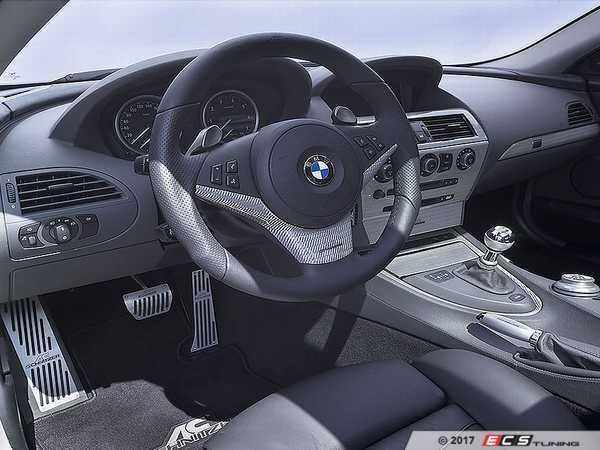 ES#3411053 - 514560140 - AC Schnitzer Carbon Fiber Interior Trim - Silver  - Drastically change the looks of your interior - AC Schnitzer - BMW
