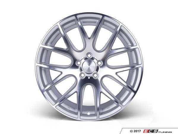 "ES#3432595 - 3s12010sc25KT - 20"" Style 0.01 - Square Set Of Four - 20x10 ET25 5x120. Silver cut with a polished lip. - 3SDM - BMW"