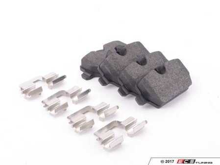 ES#3226426 - 104.12260 - Posi Quiet Semi-Metallic Brake Pads - Rear - Restore the stopping power in your vehicle - Centric - MINI