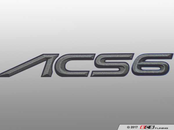 ES#3034490 - 511463110 - AC Schnitzer Type Designation Emblem  - A touch of AC Shcnitzer to show your pride - AC Schnitzer - BMW