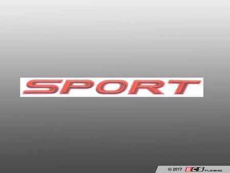 ES#3034485 - 511410310 - AC Schnitzer Type Designation Emblem  - A touch of AC Schnitzer to show your pride - AC Schnitzer - BMW MINI