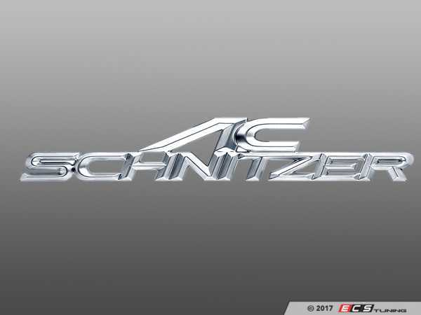 ES#3034483 - 511410150 - AC Schnitzer Type Trunk Emblem (160x32mm) - Show off what you've got with a new emblem from AC Schnitzer - AC Schnitzer - BMW