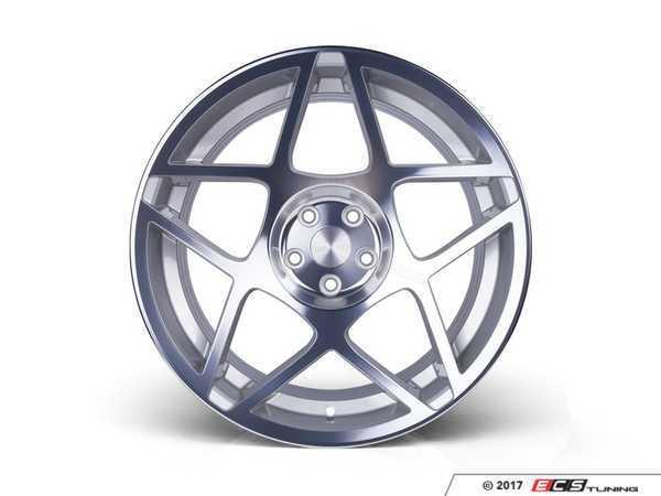 """ES#3432739 - 3s82090sc18KT - 20"""" Style 0.08 - Square Set Of Four - 20x9.0 ET18 5x120 Silver cut finish. - 3SDM - BMW"""