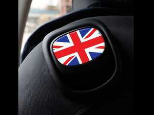 ES#3437542 - IP205 - GoBadges MINI Cooper F55 F56 F57 Seat Recline Stickers Set - Union Jack  - Add some style to the upper seat handle - Go Badges - MINI