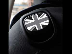 ES#3437544 - IP206 - GoBadges MINI Cooper F55 F56 F57 Seat Recline Stickers Set - Black Jack - Add some style to the upper seat handle - Go Badges - MINI
