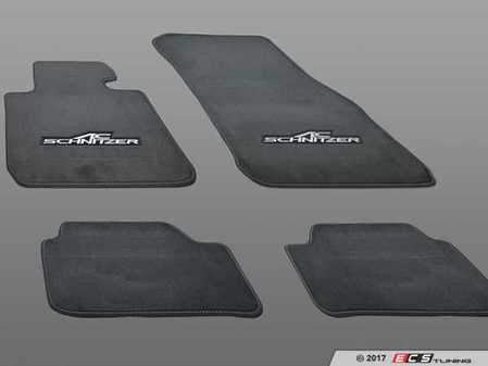 ES#3411098 - 514770110 - AC Schnitzer Floor Mats - Black - An easy way to upgrade the looks of your interior - AC Schnitzer - BMW