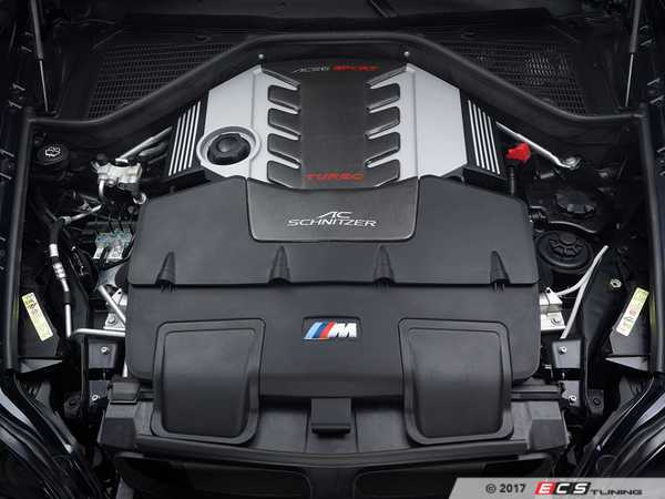 ES#3430714 - 111270110 - AC Schnitzer Painted Engine Cover - Give your engine bay a touch of style! - AC Schnitzer - BMW
