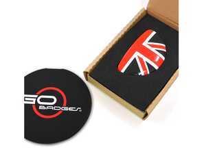 ES#3437816 - IP105 - MINI Cooper R60 R61 Glove Box Cap - Red Jack  - Add some design to the glove box handle - Go Badges - MINI