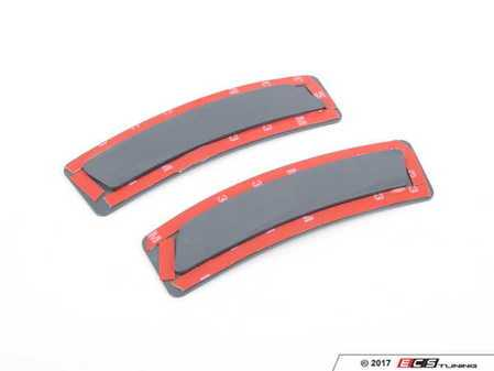 ES#3420929 - BM-0998-UP - Painted Front Bumper Reflectors - Unpainted - Clean up your front bumper with reflector deletes - AUTOTECKNIC - BMW