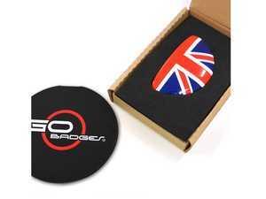 ES#3437832 - IP12 - MINI Cooper R60 R61 Glove Box Cap - Union Jack - Add some design to the glove box handle - Go Badges - MINI