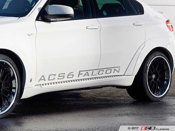 ES#3034495 - 511471110 - AC Schnitzer ACS6 Falcon Emblem - Silver - New decal for the side of your car showing off your falcon - AC Schnitzer - BMW