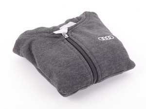 ES#3133435 - ACM2699CHA2T - Full Zip Toddle Hoodie - Charcoal - 2T - Toddle hoodie with Audi rings logo - Audi Collection - Audi