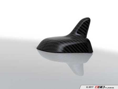 ES#3191300 - 022697ECS01 - Carbon Fiber Antenna Cover - Add a unique, lightweight look to your ride - ECS - Audi Volkswagen