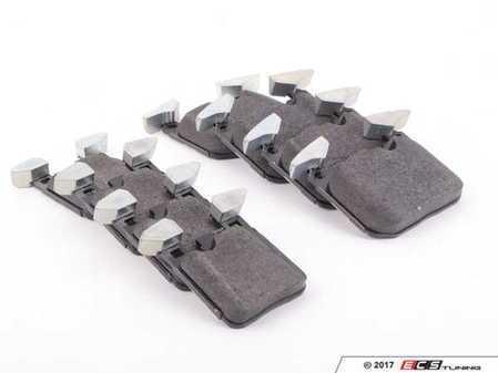 ES#3194725 -  34116878876KT - Front And Rear Brake Pad Kit - Genuine BMW - For factory braking performance - Genuine BMW - BMW