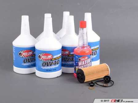 ES#3432316 - 114285705907KT - Oil Service Kit 2.0L - Everything you need for a comprehensive oil service, including Redline oil, Genuine filter with new magnetic drain plug - Assembled By ECS - MINI