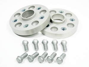ES#1306735 - 5055571 - DRA Series Wheel Spacers - 25mm (Pair) - Fine tune your stance and improve handling - H&R - Audi Volkswagen