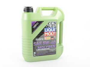 ES#3246016 - 20232 - Molygen New Generation Engine Oil (5w-40) - 5 Liter - Full synthetic oil with fluorescent, friction-reducing additive! - Liqui-Moly - Audi BMW Volkswagen Mercedes Benz MINI