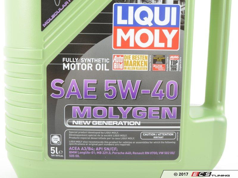 ecs news liqui moly molygen oil for your audi vw. Black Bedroom Furniture Sets. Home Design Ideas