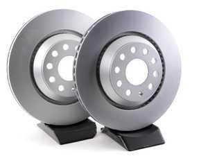 ES#3427380 - 1k0615601n7KT1 - Rear Brake Rotors - Pair (310x22) - Coated, high carbon premium rotors - Pagid - Audi Volkswagen