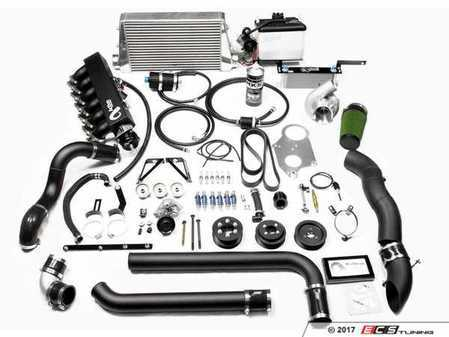 ES#3438851 - 12-025 - Generation 9 Supercharger Kit - Level 2 - 605HP/395TQ - a complete power solution for your M3 - includes front mount intercooler, fuel system upgrades, and methanol injection! - Active Autowerke - BMW