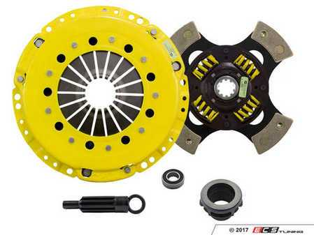 ES#3438705 - bm1-hdg4KT1 - Heavy Duty Sprung 4-Pad Racing Clutch Kit With XACT Prolite Flywheel - Perfect for high performance street and road racing demands. Conservatively rated up to 545 ft/lbs torque capacity. - ACT - BMW