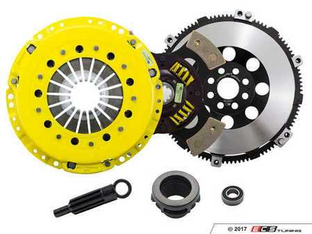 ES#3438019 - BM7-HDG4 - Heavy Duty Sprung 4-Pad Racing Clutch Kit With XACT Streetlite Flywheel - Perfect for high performance street and road racing demands. Conservatively rated up to 505 ft/lbs torque capacity. - ACT - BMW