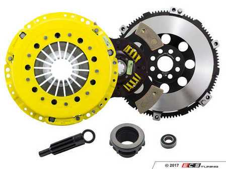 ES#3438014 - BM6-HDG4 - Heavy Duty Sprung 4-Pad Racing Clutch Kit With XACT Streetlite Flywheel - Perfect for high performance street and road racing demands. Conservatively rated up to 505 ft/lbs torque capacity. - ACT - BMW
