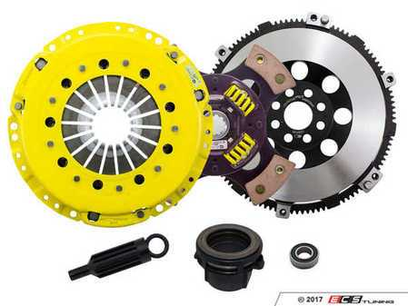 ES#3438008 - BM5-HDG4 - Heavy Duty Sprung 4-Pad Racing Clutch Kit With XACT Prolite Flywheel - Perfect for high performance street and road racing demands. Conservatively rated up to 505 ft/lbs torque capacity. - ACT - BMW