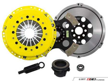 ES#3438004 - BM4-HDR4 - Heavy Duty 4-Pad Rigid Racing Clutch Kit With XACT Streetlite Flywheel - Perfect for aggressive racing demands. Conservatively rated up to 505 ft/lbs torque capacity. - ACT - BMW