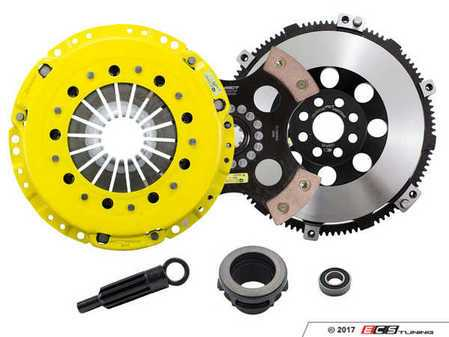ES#3438021 - BM7-HDR4 - Heavy Duty 4-Pad Rigid Racing Clutch Kit With XACT Prolite Flywheel - Perfect for aggressive racing demands. Conservatively rated up to 505 ft/lbs torque capacity. - ACT - BMW