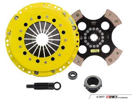 ES#3438701 - bm1-hdr4KT1 - Heavy Duty 4-Pad Rigid Racing Clutch Kit With XACT Prolite Flywheel - Perfect for aggressive racing demands. Conservatively rated up to 545 ft/lbs torque capacity. - ACT - BMW