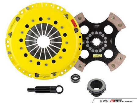 ES#3438710 - bm3-hdr4KT - Heavy Duty 4-Pad Rigid Racing Clutch Kit With XACT Streetlite Flywheel - Perfect for aggressive racing demands. Conservatively rated up to 500 ft/lbs torque capacity. - ACT - BMW