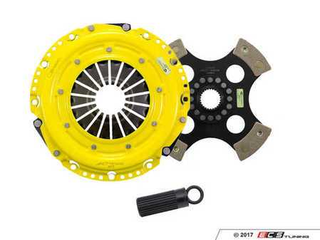 ES#3438750 - bm8-hdr4KT - Heavy Duty 4-Pad Rigid Racing Clutch Kit With XACT Streetlite Flywheel - Perfect for aggressive racing demands. Conservatively rated up to 565 ft/lbs torque capacity. - ACT - BMW