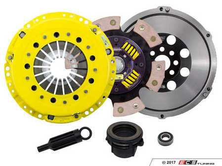 ES#3438003 - BM4-HDG6 - Heavy Duty Sprung 6-Pad Racing Clutch Kit With XACT Streetlite Flywheel - Perfect for high performance street and road racing demands. Conservatively rated up to 505 ft/lbs torque capacity. - ACT - BMW