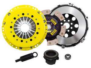 ES#3438009 - BM5-HDG6 - Heavy Duty Sprung 6-Pad Racing Clutch Kit With XACT Prolite Flywheel - Perfect for high performance street and road racing demands. Conservatively rated up to 505 ft/lbs torque capacity. - ACT - BMW