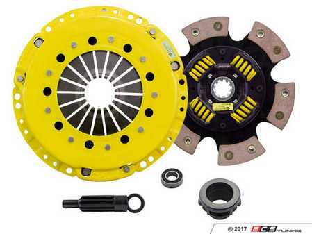 ES#3438698 - bm1-hdg6KT - Heavy Duty Sprung 6-Pad Racing Clutch Kit With XACT Streetlite Flywheel - Perfect for high performance street and road racing demands. Conservatively rated up to 545 ft/lbs torque capacity. - ACT - BMW