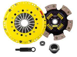 ES#3438724 - bm3-hdg6KT1 - Heavy Duty Sprung 6-Pad Racing Clutch Kit With XACT Prolite Flywheel - Perfect for high performance street and road racing demands. Conservatively rated up to 500 ft/lbs torque capacity. - ACT - BMW
