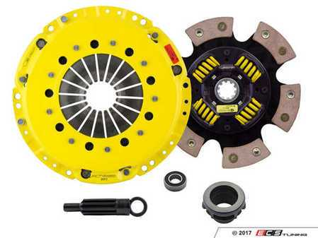 ES#3438723 - bm3-hdg6KT - Heavy Duty Sprung 6-Pad Racing Clutch Kit With XACT Streetlite Flywheel - Perfect for high performance street and road racing demands. Conservatively rated up to 500 ft/lbs torque capacity. - ACT - BMW