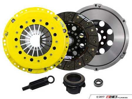 ES#3438006 - BM4-HDSD - Heavy Duty Rigid Street Performance Clutch Kit With XACT Streetlite Flywheel - Perfect for aggressive street and moderate racing demands. Conservatively rated up to 395 ft/lbs torque capacity. - ACT - BMW