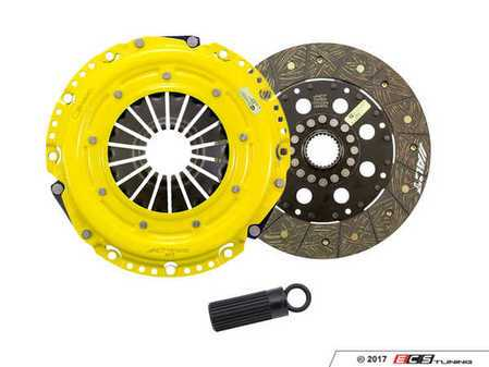 ES#3438744 - bm8-hdsdKT - Heavy Duty Rigid Street Performance Clutch Kit With XACT Streetlite Flywheel - Perfect for aggressive street and moderate racing demands. Conservatively rated up to 440 ft/lbs torque capacity. - ACT - BMW