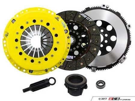 ES#3438012 - BM5-HDSD - Heavy Duty Rigid Street Performance Clutch Kit With XACT Prolite Flywheel - Perfect for aggressive street and moderate racing demands. Conservatively rated up to 395 ft/lbs torque capacity. - ACT - BMW