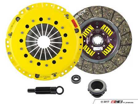 ES#3438713 - bm3-hdssKT - Heavy Duty Sprung Street Performance Clutch Kit With XACT Streetlite Flywheel - Perfect for aggressive street and moderate racing demands. Conservatively rated up to 390 ft/lbs torque capacity. - ACT - BMW