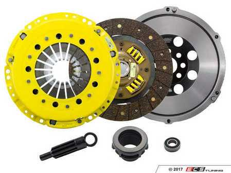 ES#3438018 - BM6-HDSS - Heavy Duty Sprung Street Performance Clutch Kit With XACT Streetlite Flywheel - Perfect for aggressive street and moderate racing demands. Conservatively rated up to 395 ft/lbs torque capacity. - ACT - BMW