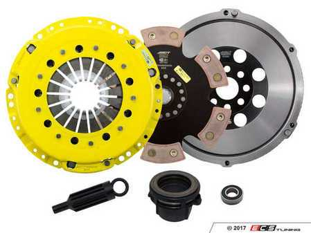 ES#3438005 - BM4-HDR6 - Heavy Duty Rigid 6-Pad Racing Clutch Kit With XACT Streetlite Flywheel - Perfect for aggressive drag and road racing demands. Conservatively rated up to 505 ft/lbs torque capacity. - ACT - BMW