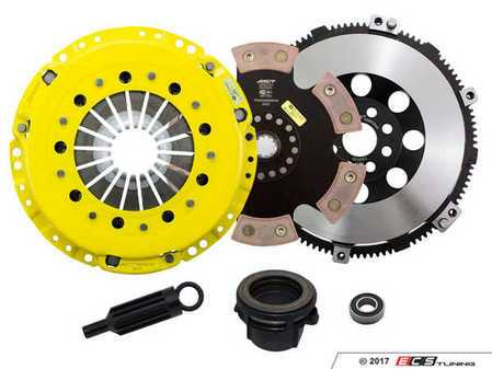 ES#3438011 - BM5-HDR6 - Heavy Duty Rigid 6-Pad Racing Clutch Kit With XACT Prolite Flywheel - Perfect for aggressive drag and road racing demands. Conservatively rated up to 505 ft/lbs torque capacity. - ACT - BMW