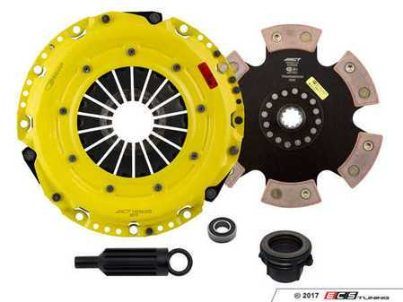 ES#3438035 - BM9-HDR6 - Heavy Duty Rigid 6-Pad Racing Clutch Kit - Perfect for aggressive drag and road racing demands. Conservatively rated up to 505 ft/lbs torque capacity. - ACT - BMW
