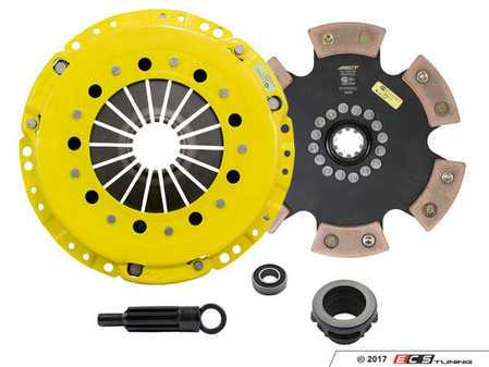 ES#3438706 - bm1-hdr6KT - Heavy Duty Rigid 6-Pad Racing Clutch Kit With XACT Streetlite Flywheel - Perfect for aggressive drag and road racing demands. Conservatively rated up to 545 ft/lbs torque capacity. - ACT - BMW