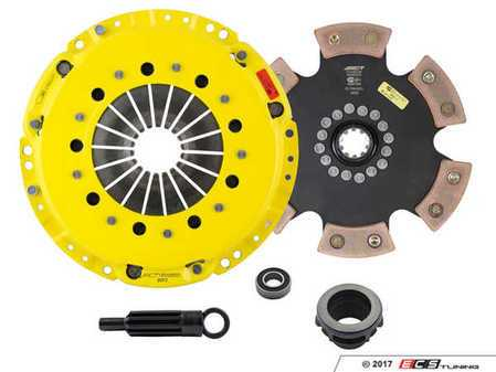ES#3438721 - bm3-hdr6KT1 - Heavy Duty Rigid 6-Pad Racing Clutch Kit With XACT Prolite Flywheel - Perfect for aggressive drag and road racing demands. Conservatively rated up to 500 ft/lbs torque capacity. - ACT - BMW